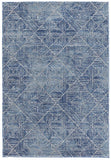 Paradise Contemporary Navy Transitional Rug
