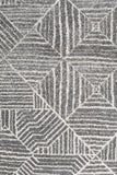 Paradise Contemporary Silver Round Transitional Rug