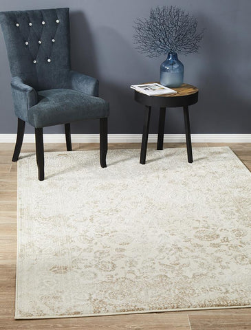 Luxuriance Loretta Cream Transitional Rug