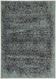 Mayfair Edge Denim Transitional Rug