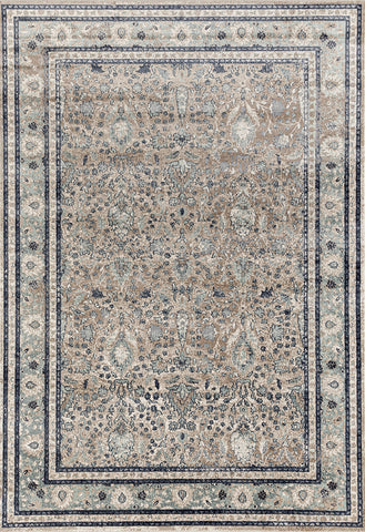 Esquire Rim Transitional Beige Rug