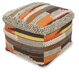 Bohemian Wool Ottoman - Lost Design Society