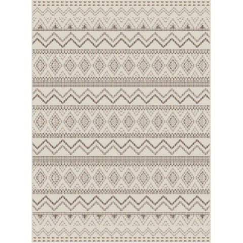 Essence Indoor Outdoor Rug | Rainbow Aztec | 200x290 cm - Lost Design Society
