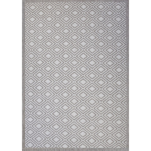 Essence Indoor Outdoor Rug | Dark Grey | 240x330 cm - Lost Design Society