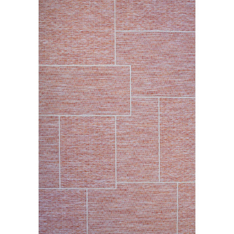 Essence Indoor Outdoor Rug | Orange Block | 160x230 cm - Lost Design Society