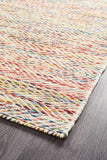 Roland Herringbone Multi Coloured Rug