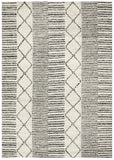 Hellena Braided Grey Wool Rug