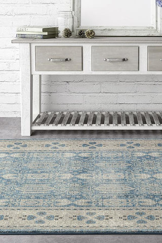 Breeze Oasis Blue Rug - Lost Design Society