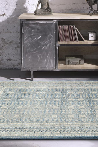 Breeze Sky Blue Rug - Lost Design Society