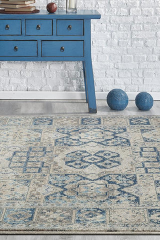 Breeze Fraction Bone Rug - Lost Design Society