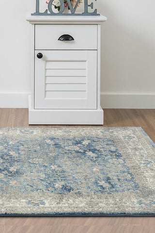 Breeze Fade Blue Rug - Lost Design Society