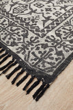 Bantu Clan Black Rug - Lost Design Society