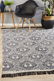 Bantu Tameless Black Rug - Lost Design Society