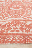 Bantu Faction Rust Rug - Lost Design Society