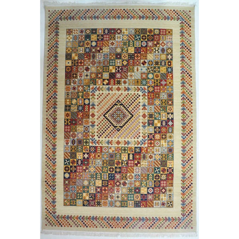 AZERI WOOL RUG 2 | Multi | 200x290cm - Lost Design Society