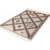 Moroccan Tribal Berber Beni Ourain Inspired Rug | Tangir | 160x230cm - Lost Design Society