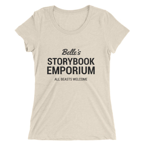 Belle's Storybook Emporium Light Tee