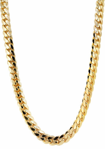 6MM Cuban Curb Link 18k Gold Chain - Capital Bling