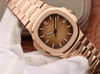 Patek Philippe Nautilus Style Watch In Rose Gold - Capital Bling Gold HipHop Jewelry