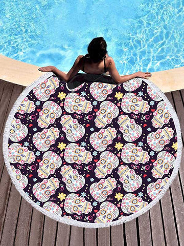 Beach Bohemia Printed Yoga Mat