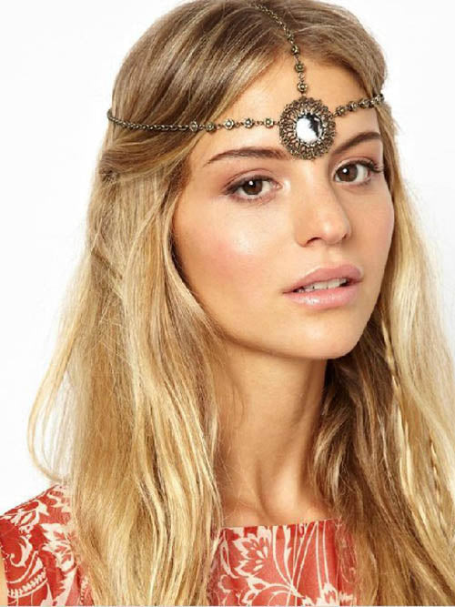 Retro Hollow Jewel Headwear Accessories