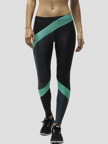 Popular Sports Model Body Quick-drying Print Tight Leggings Bottoms