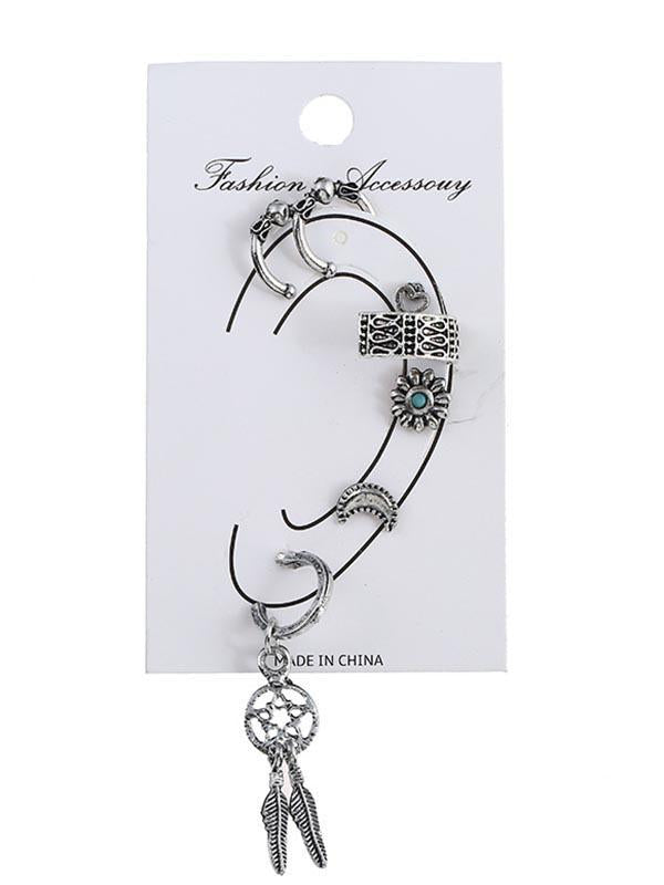 Multi Shape Alloy Earring Accessories