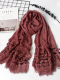 6 Colors Bohemia Tasseled Scarf