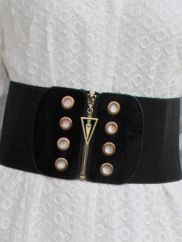 Fashionable Wide Belt Accessories