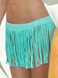 Tassels Beach Bohemia Mini Skirt