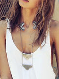 Bohemia Vintage Alloy Necklaces Accessories