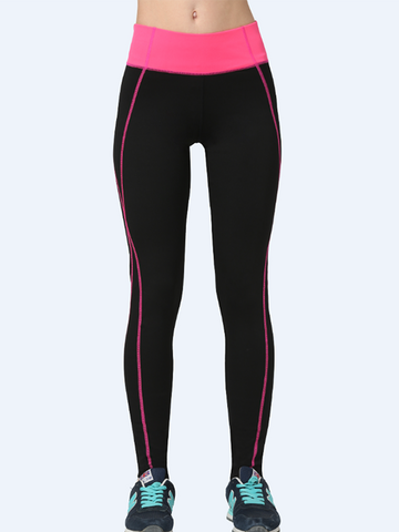 Pretty Popular Model Quick-drying Yoga Running Line Tight Pants Bottoms