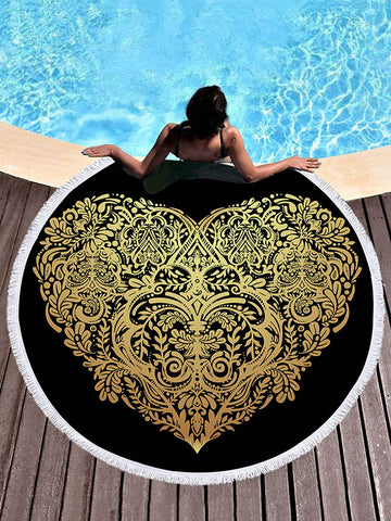 Ultrafine Gold Bronzed Beach Mat
