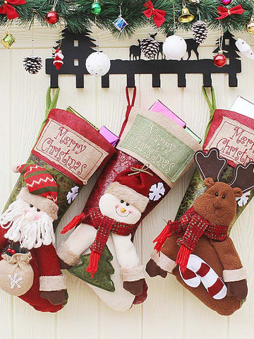 Christmas Children's Large Socks Bag Decoration Accessories