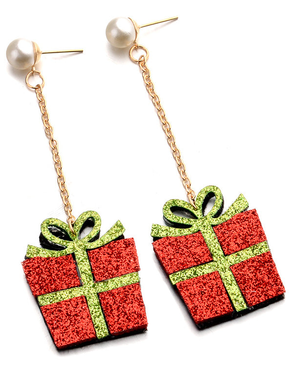 Pretty Gift Box Earrings Accessories