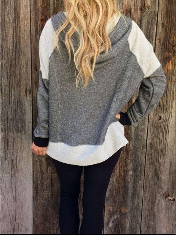 Fashion Vintage Long Sleeves Outwears Tops