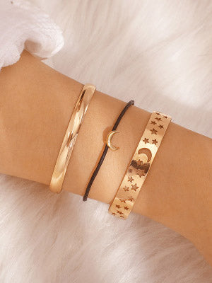 Star Moon 3pieces Bracelet Accessories
