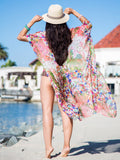 Floral Printed Beach Cover-ups