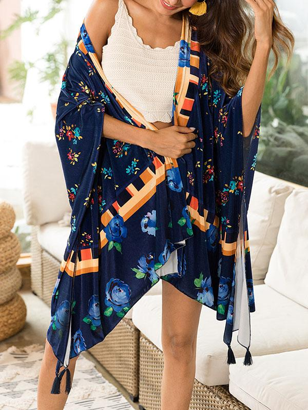 914e51b2bc Beach Vacation Tassels Floral Mask Cover-ups – oshoplive