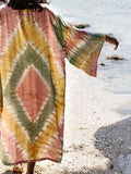 Floral Loose Beach Bohemia Cover-ups