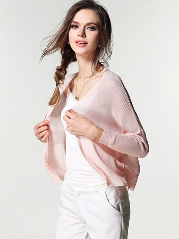 Pretty Soft Solid Color Long Sleeve Sweater Cardigan Tops