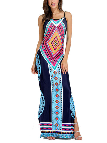 Backless Bohemia Long Maxi Dresses