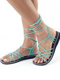 Bohemia Beach Flat Bandage Sandal Shoes