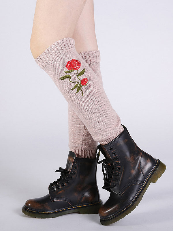 Bohemia 5 Colors Knitting Over Knee-high Stocking