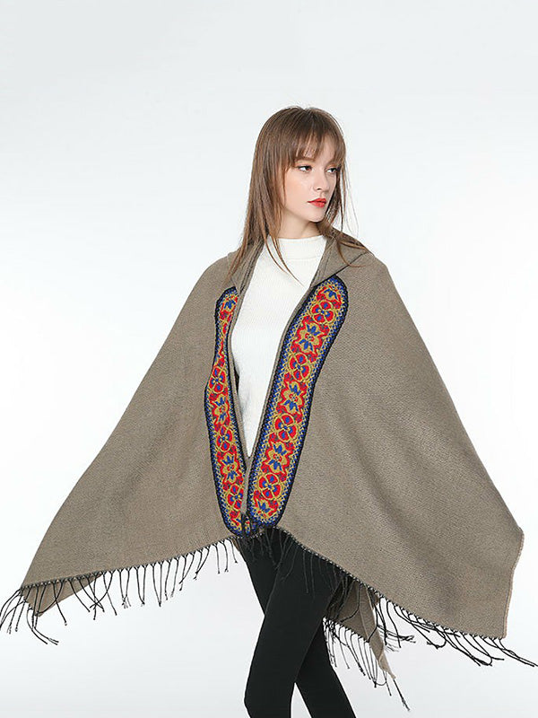 Bohemia With Hat Cape Scarf