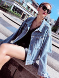 Denim Fashion Hollow Jean Jackets