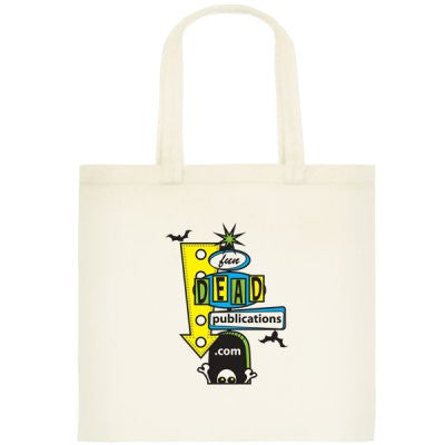 FunDead Logo Canvas Tote