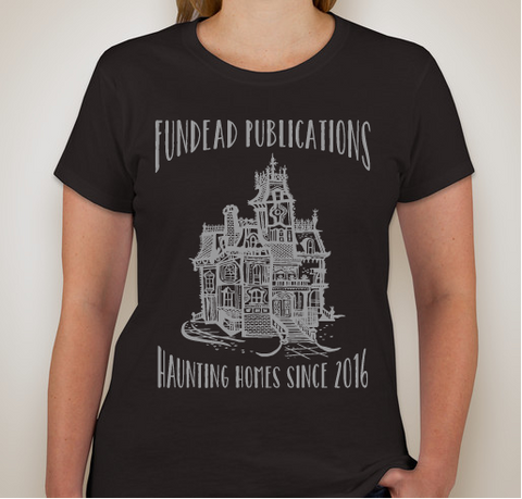 Fitted Haunted House T-Shirt