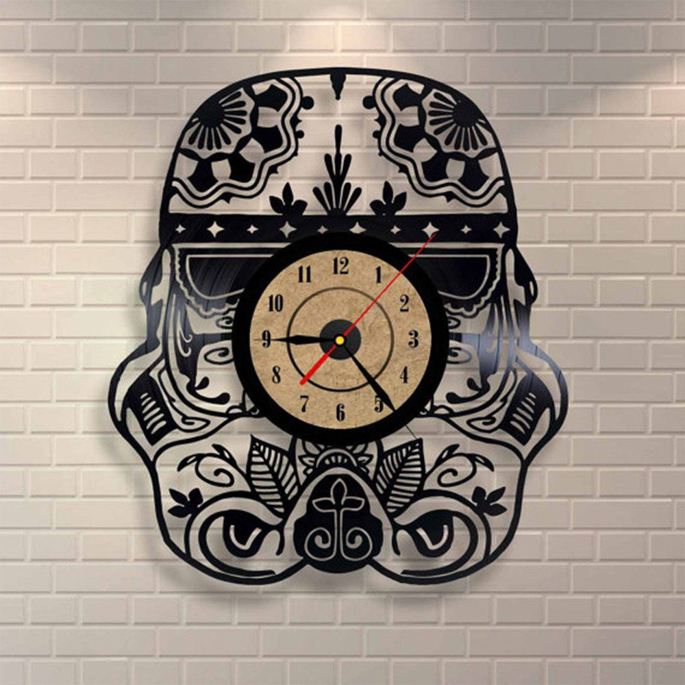 Products tagged star wars vinyl record wall clock print gaze star wars vinyl record wall clock amipublicfo Choice Image