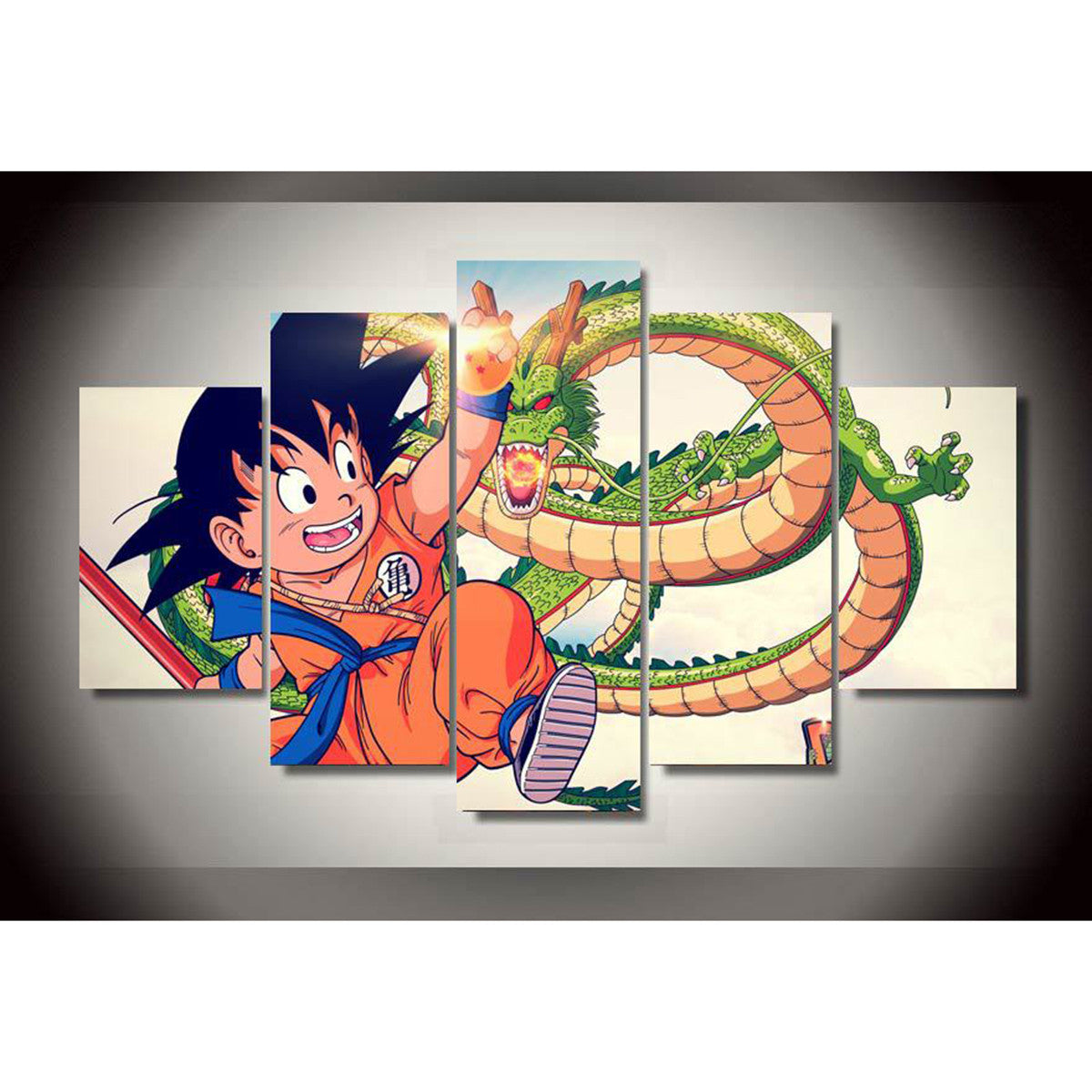 Products tagged dragonball z print gaze for Decoration murale dragon ball